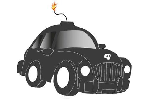 Angst vor dem Auto, das Auto macht, was es will, bis zum Kontrollverlust