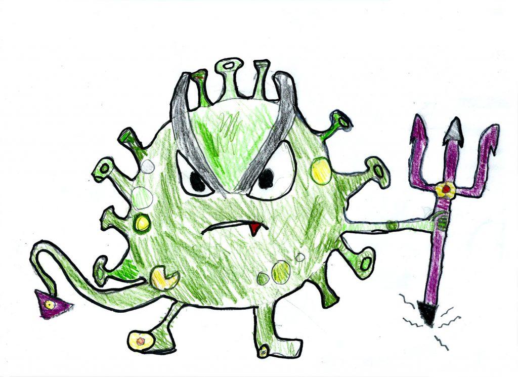 Coronavirus - Auslöser der gefährlichen Lungenkrankheit Covid-19