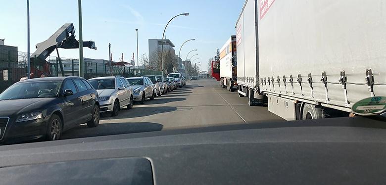 Fahrangst im Großstadtverkehr. Die ersten Betreuungsstunden