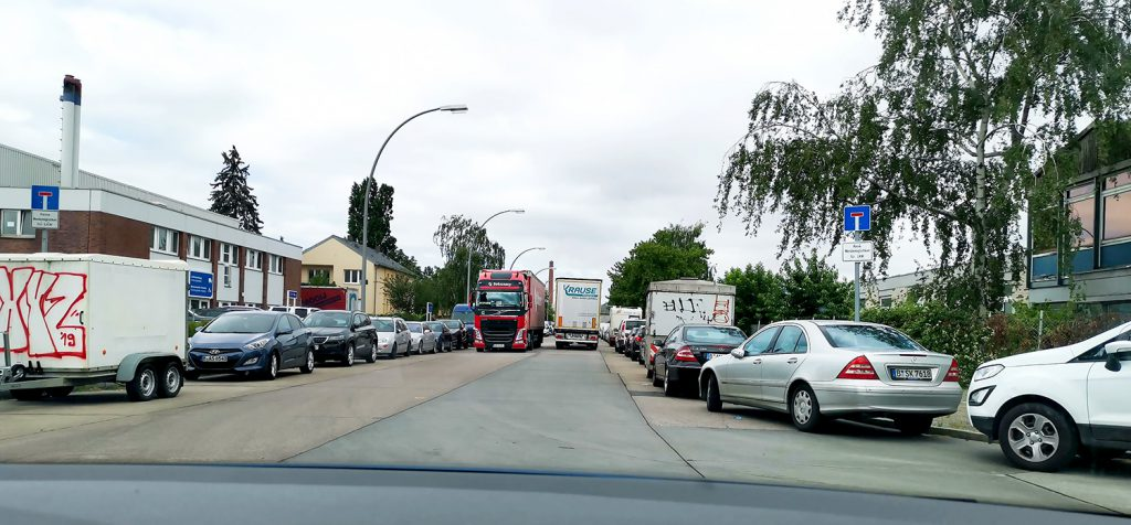 Gewerbegebiet Neukölln, Sackgasse
