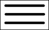 Symbol drei waagerechte Striche zur Anzeige des Menüs oben